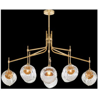 Fine Art Lamps 899340-2AB Nest 1 Light 8 inch Gold Pendant Ceiling Light