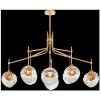 Fine Art Lamps 899340-2AB Nest 1 Light 8 inch Gold Pendant Ceiling Light