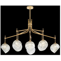 Fine Art Lamps 899340-2CL Nest 1 Light 52 inch Gold Pendant Ceiling Light