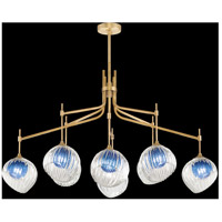 Fine Art Lamps 899340-2CO Nest 1 Light 8 inch Gold Pendant Ceiling Light
