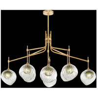 Fine Art Lamps 899340-2FG Nest 1 Light 8 inch Gold Pendant Ceiling Light