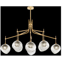 Fine Art Lamps 899340-2SQ Nest 1 Light 8 inch Gold Pendant Ceiling Light