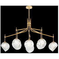 Fine Art Lamps 899340-2WH Nest 1 Light 8 inch Gold Pendant Ceiling Light