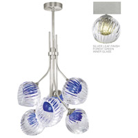 Fine Art Lamps 899440-1FG Nest 1 Light 8 inch Silver Pendant Ceiling Light