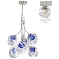 Fine Art Lamps 899440-1SQ Nest 1 Light 8 inch Silver Pendant Ceiling Light
