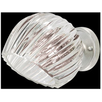 Nest 1 Light 8 inch Silver Wall Sconce Wall Light