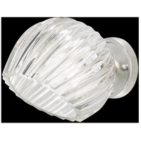 Fine Art Lamps 899650-1WH Nest 1 Light 8 inch Silver Wall Sconce Wall Light