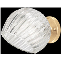 Fine Art Lamps 899650-2CL Nest 1 Light 8 inch Gold Wall Sconce Wall Light