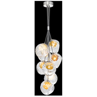 Nest 1 Light 8 inch Silver Pendant Ceiling Light