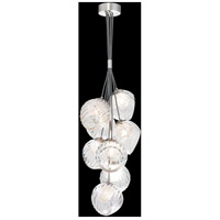Fine Art Lamps 899740-110CL Nest 1 Light 8 inch Silver Pendant Ceiling Light