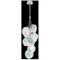 Fine Art Lamps 899740-1AQ Nest 8 Light 16 inch Silver Pendant Ceiling Light