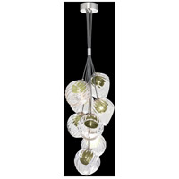 Fine Art Lamps 899740-1FG Nest 8 Light 16 inch Silver Pendant Ceiling Light