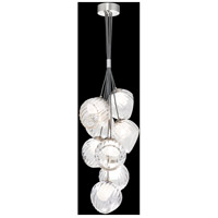 Fine Art Lamps 899740-1WH Nest 8 Light 16 inch Silver Pendant Ceiling Light