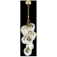 Fine Art Lamps 899740-2FG Nest 8 Light 16 inch Gold Pendant Ceiling Light