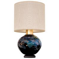 Fine Art Lamps 899910-32ST SoBe 20 inch 100 watt Gold Table Lamp Portable Light