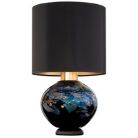 Fine Art Lamps 899910-33ST SoBe 20 inch 100 watt Gold Table Lamp Portable Light