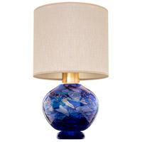 Fine Art Lamps 899910-42ST SoBe 20 inch 100 watt Gold Table Lamp Portable Light