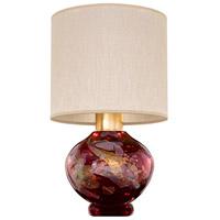 Fine Art Lamps 899910-52ST SoBe 20 inch 100 watt Gold Table Lamp Portable Light