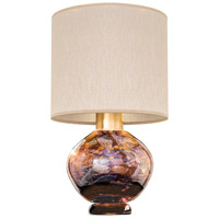 Fine Art Lamps 899910-72ST SoBe 20 inch 100 watt Gold Table Lamp Portable Light