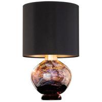 Fine Art Lamps 899910-73ST SoBe 20 inch 100 watt Gold Table Lamp Portable Light