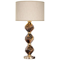 Fine Art Lamps 900010-32ST SoBe 31 inch 100 watt Brass Table Lamp Portable Light