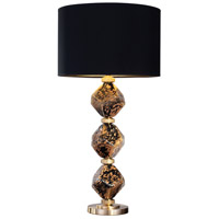 Fine Art Lamps 900010-33ST SoBe 31 inch 100 watt Brass Table Lamp Portable Light