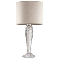 Fine Art Lamps 900210-182ST SoBe 32 inch 100 watt Silver Table Lamp Portable Light