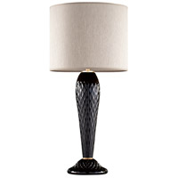 Fine Art Lamps 900210-232ST SoBe 32 inch 100 watt Gold Table Lamp Portable Light