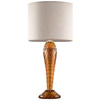 Fine Art Lamps 900210-272ST SoBe 32 inch 100.00 watt Gold Table Lamp Portable Light