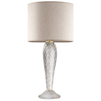 Fine Art Lamps 900210-282ST SoBe 32 inch 100 watt Gold Table Lamp Portable Light