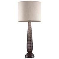 Fine Art Lamps 900610-192ST SoBe 36 inch 100 watt Silver Table Lamp Portable Light