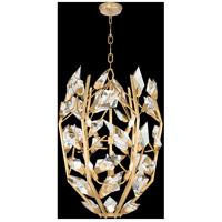 Fine Art Lamps 902840-2ST Foret 6 Light 22 inch Gold Pendant Ceiling Light