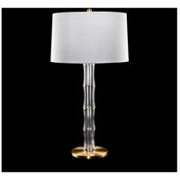 Fine Art Lamps 905710ST Crystal Lamps 31 inch 150 watt Brass Table Lamp Portable Light
