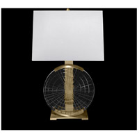 Fine Art Lamps 906010ST Crystal Lamps 26 inch 150 watt Brass Table Lamp Portable Light