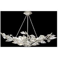 Fine Art Lamps 909040-1ST Foret 6 Light 47 inch Silver Pendant Ceiling Light
