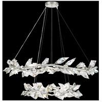 Fine Art Lamps 909140-1ST Foret 20 Light 55 inch Silver Pendant Ceiling Light