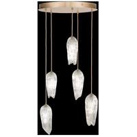 Fine Art Lamps 911540-2ST Las Olas 5 Light 25 inch Gold Pendant Ceiling Light