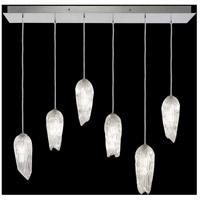 Fine Art Lamps 912040-1ST Las Olas 6 Light 12 inch Silver Pendant Ceiling Light