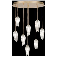 Fine Art Lamps 912140-2ST Las Olas 8 Light 32 inch Gold Pendant Ceiling Light