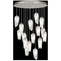 Fine Art Lamps 912340-1ST Las Olas 16 Light 45 inch Silver Pendant Ceiling Light
