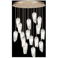 Fine Art Lamps 912340-2ST Las Olas 16 Light 45 inch Gold Pendant Ceiling Light