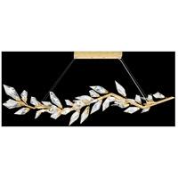 Fine Art Lamps 914640-2ST Foret 8 Light 72 inch Gold Pendant Ceiling Light