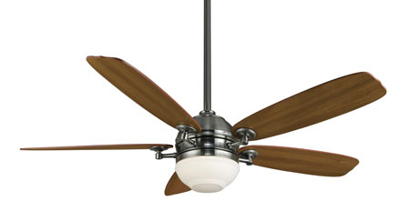 Fanimation Akira Indoor Ceiling Fan in Pewter with Cherry/Walut Blades FP8000PW photo