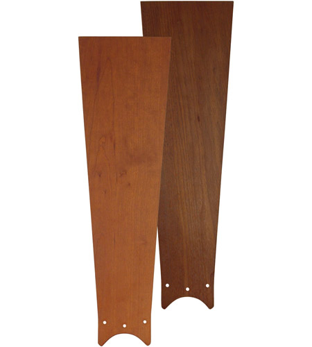 Fanimation B4442CWR Zonix Cherry and Walnut 20 inch Set of 3 Fan Blade in Cherry/Walnut photo