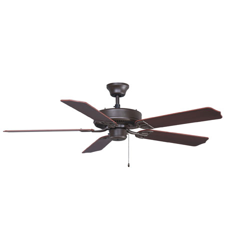 Fanimation Aire Decor Builder Series Indoor Ceiling Fan in Oil-Rubbed Bronze with Cherry/Walnut Blades 220v BP200OB1-220 photo