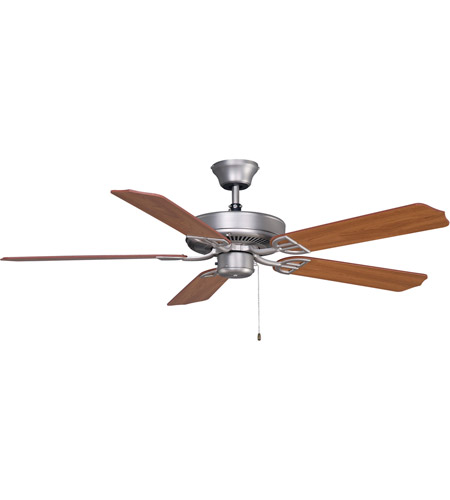 Fanimation Aire Decor Builder Series Indoor Ceiling Fan in Cherry/Walnut with Cherry/Walnut Blades BP200SN1 photo