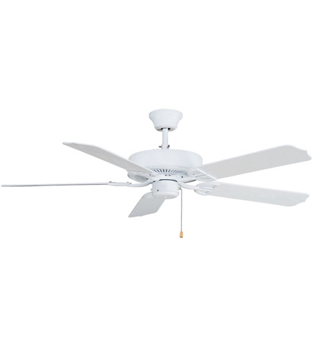Fanimation BP230MW1 Aire Decor 52 inch Matte White Ceiling Fan photo