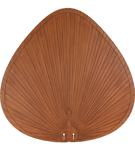 Fanimation BPP1BR Plastic Composite Palm Brown/Red 22 inch Set of 5 Fan Blades photo
