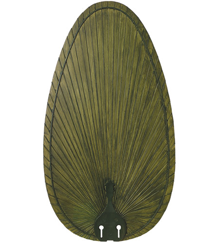 Fanimation BPP4GR Signature Green 22 inch Set of 5 Fan Blade in Composite Palm Green photo