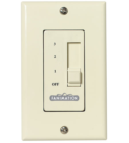 Fanimation Control Fan Only (3-Speed/Non-Reversing) Fan Accessory in Ivory C1V photo